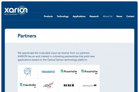 Partner Page